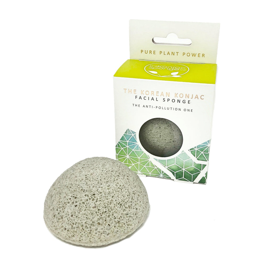 'Earth' Elements Konjac Facial Sponge with Tourmaline