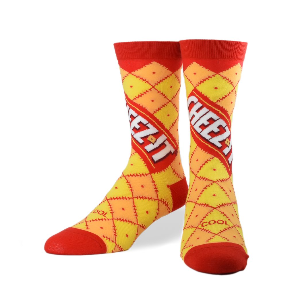Cheez-It Tall Socks