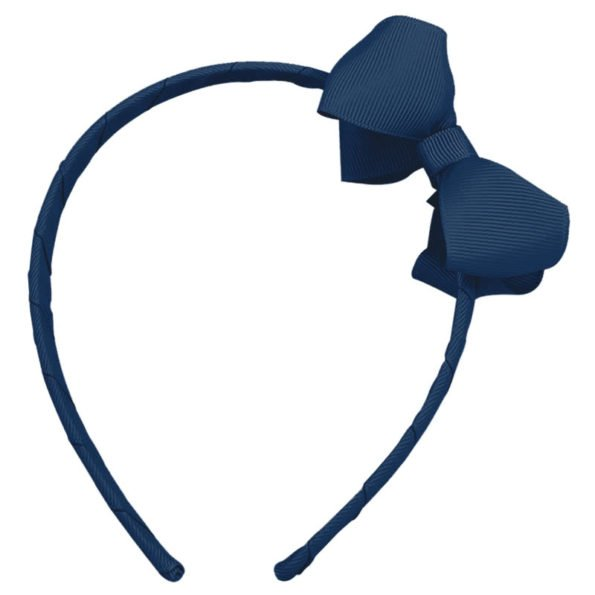 Med Hairband w/ Bow