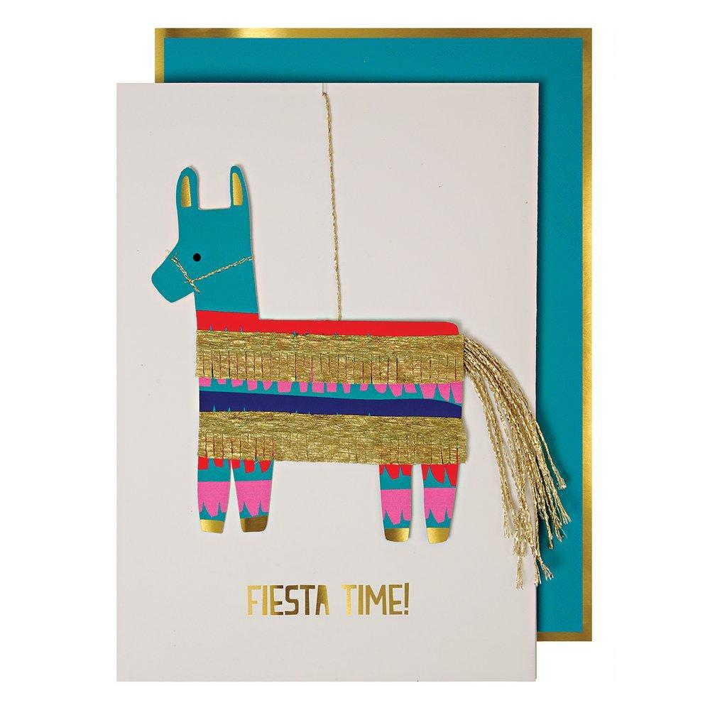 Fiesta Time Card