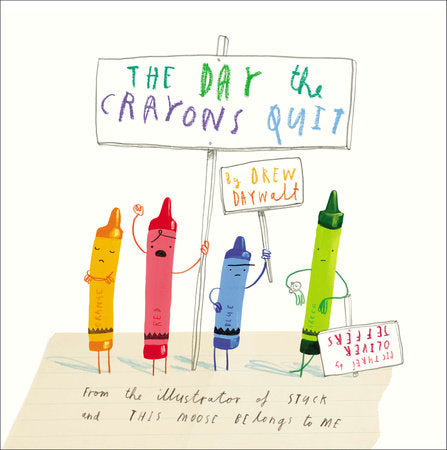 Random House / The Day the Crayons Quit / The Itsy Bitsy Boutique Houston Texas