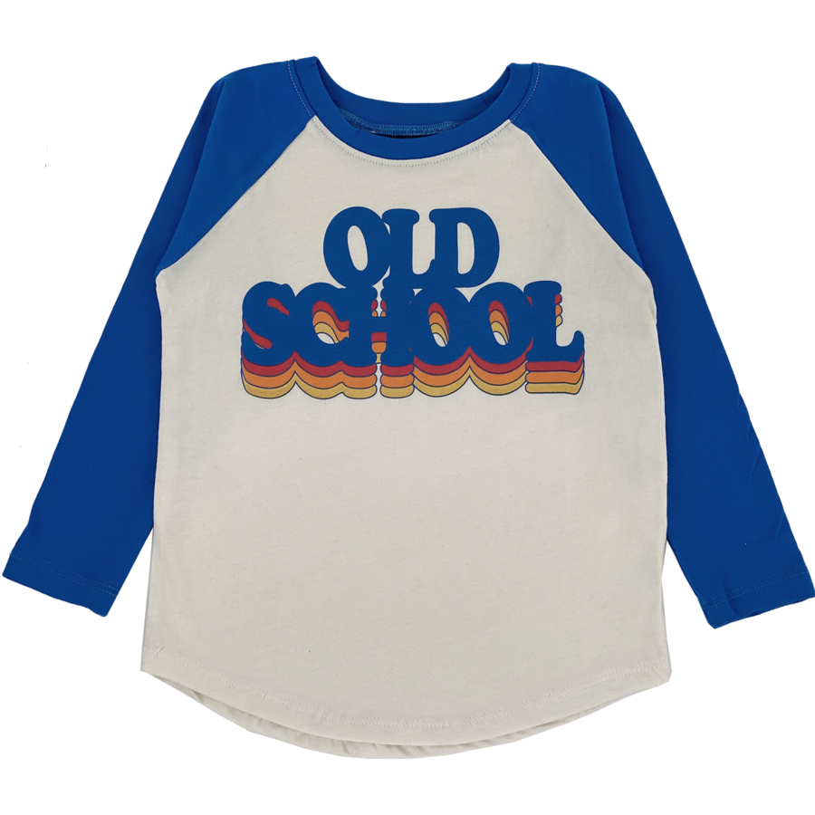 Old School Raglan Tee