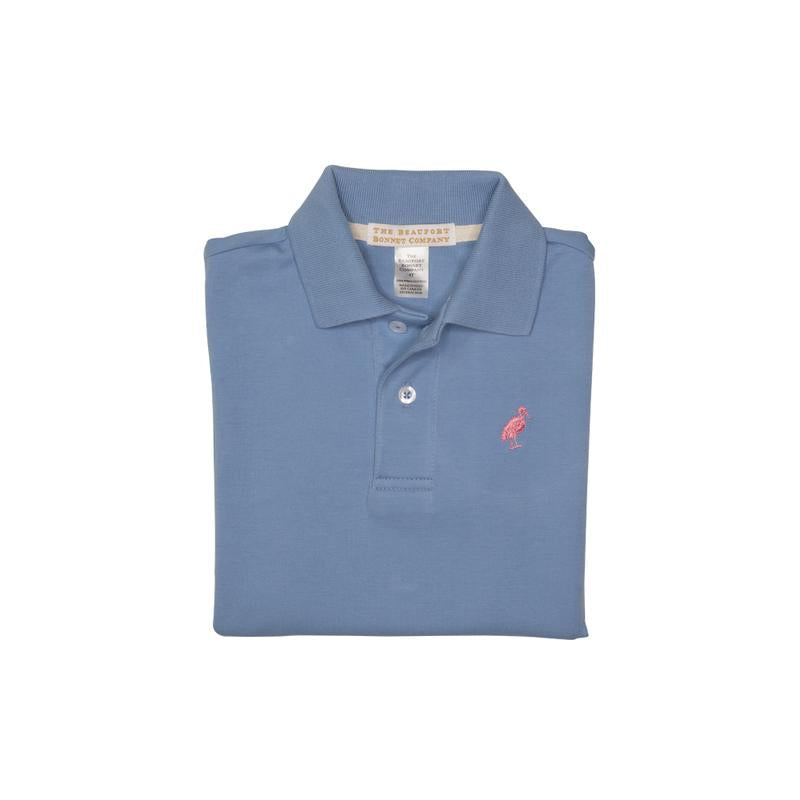 Prim and Proper Polo in Periwinkle