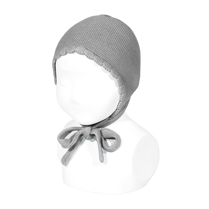 Moss Stitch Bonnet-Gr