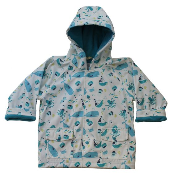 Deep Sea Rain Coat