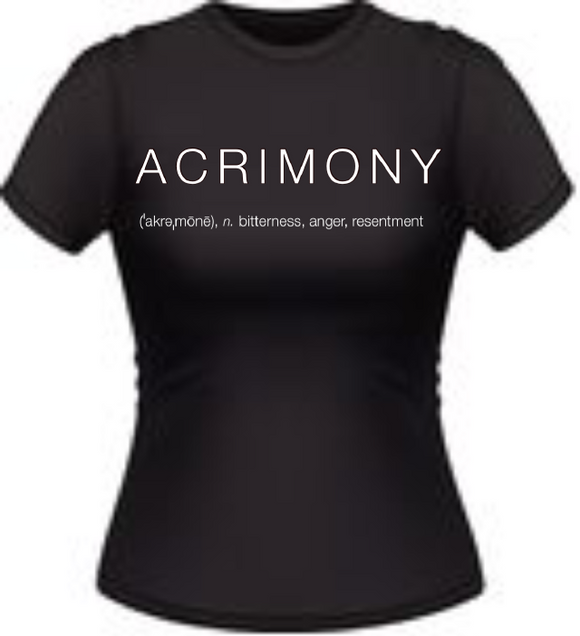 Acrimony Crystle Stewart Fan Club T-Shirt - Adult Size
