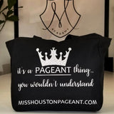 Official Miss Houston Pageant Tote Bag