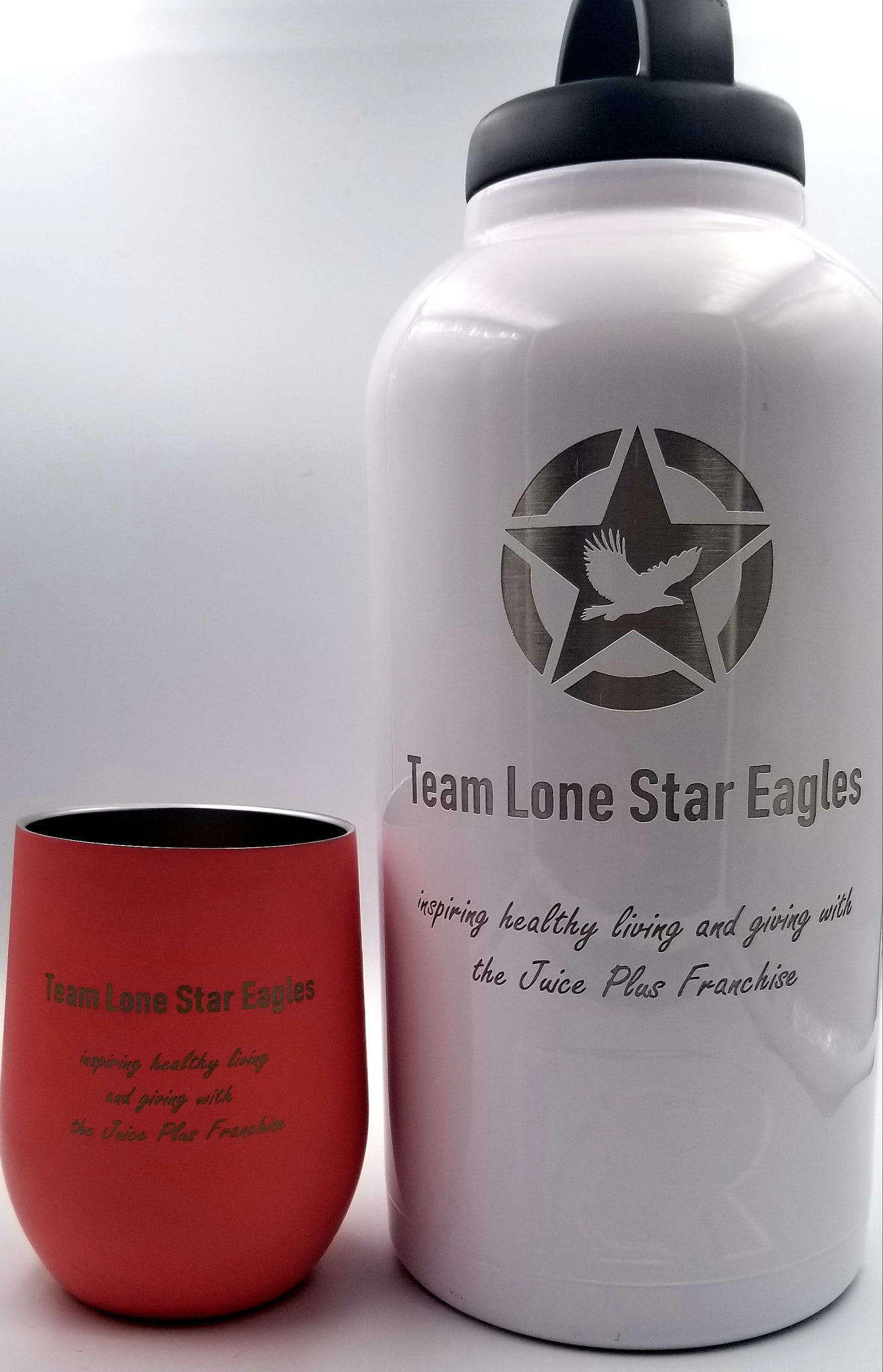 bf26fb1bf01 ... Exclusive Team Lone Star Eagle Juice Plus RTIC 64 oz Tumbler, Stainless  Steel Bottle, ...
