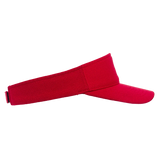 Red Polyester Visor