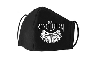 Be a Revolution | RBG Mask | Justice Ruth Bader Ginsburg | RBG Face Mask | Washable | Reusable Cloth Masks | Nose Cover Face Mask | Be a Revolution | RGB
