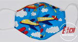 Children's Face Mask - Reversible, Reusable, Washable, Breathable