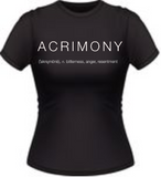 ACRIMONY - Crystle Stewart Fan Club T-Shirt - Adult Sizes