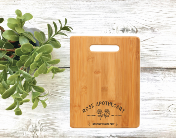 Rose Apothecary Cutting Board - Alexis Rose - David Rose - Ew David - Rose Apothecary , Schitt's Creek