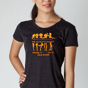 The BeauTea Party Taj Sudios Nubian Exhibit T Shirt