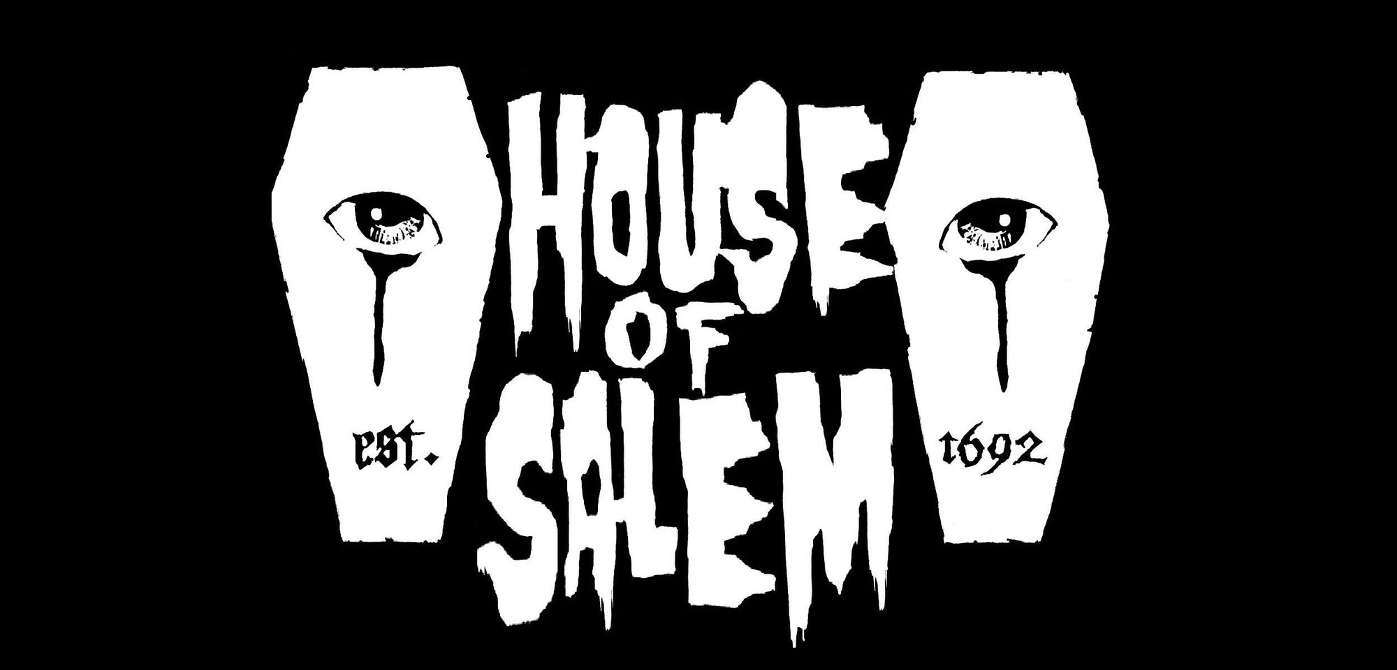 house of salem logo tshirt company coffins eyes 1692