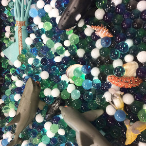How to Make An Under the Sea Sensory Bin
