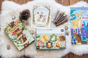How to Build Language Skills: Woodland Animals Theme