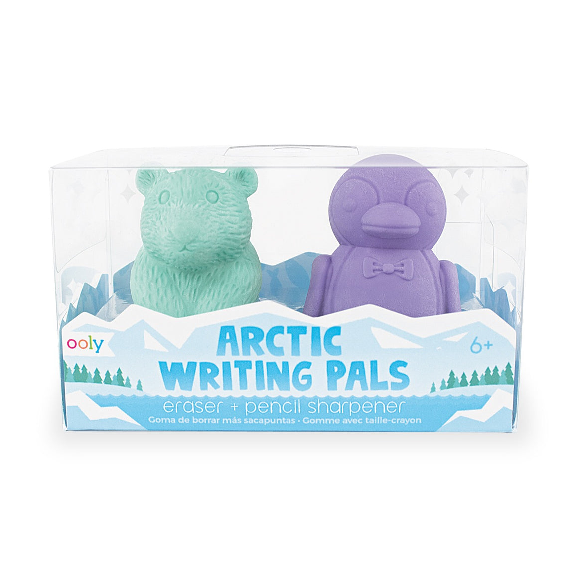 Arctic Writing Pals Erasers & Sharpeners - Lola & Lark