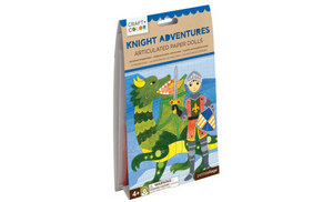 Knight Adventures Articulated Paper Dolls - Lola & Lark