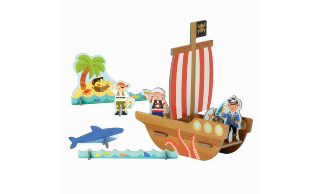 Pirate Pop Out & Play