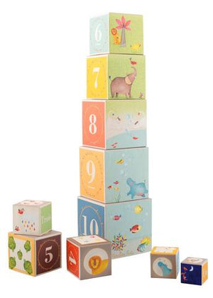 Moulin Roty Stacking Cubes - Lola & Lark
