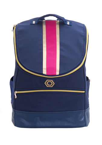 Navy with Pink and Gold Classic
