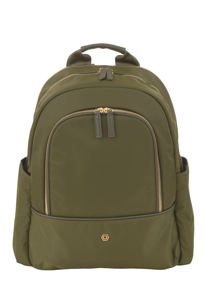 Green Slim Backpack - Create Your Own