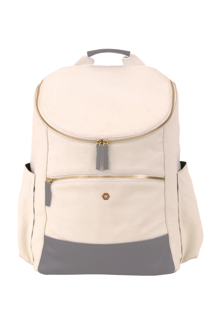 82a5747060496 Natural   Grey Classic Backpack - Create Your Own – Madeline   Company