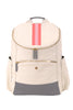 Natural & Grey with Blush & Coral Classic Backpack