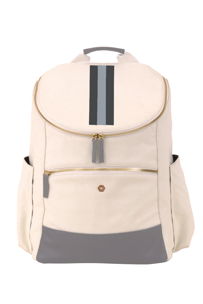 Natural & Grey with Grey Classic Backpack