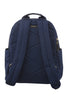 Navy with Aqua & Fuchsia Slim Backpack