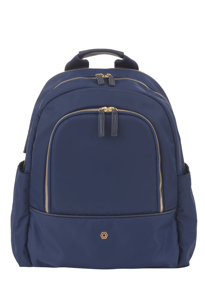 Navy Slim Backpack - Create Your Own