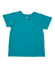 Me Do. Learn-to-Dress Aqua Tee Shirt Front