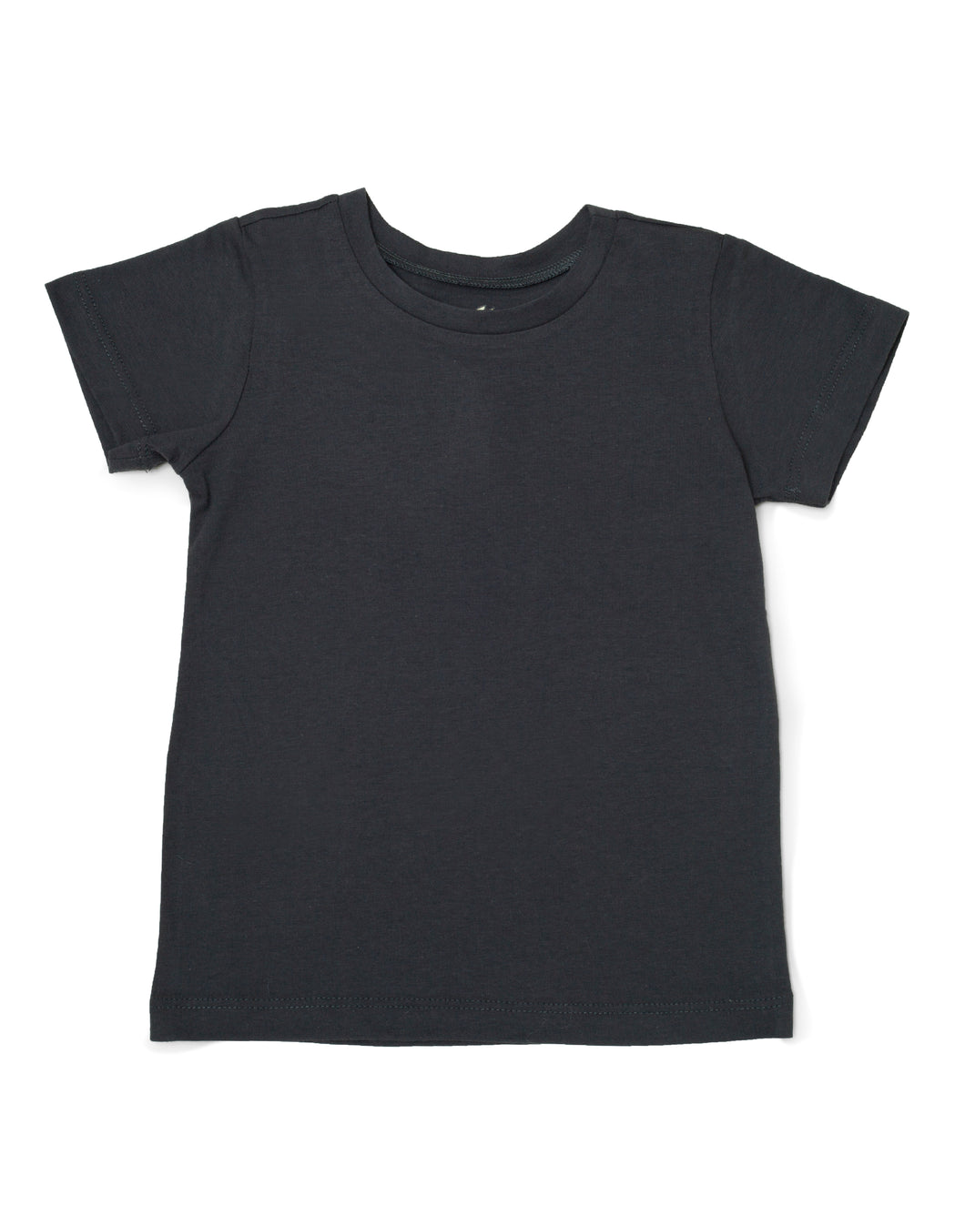 Me Do. Learn-to-Dress Grey Tee Shirt Front