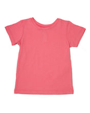 Me Do. Learn-to-Dress Pink Tee Shirt Front