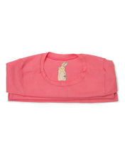 Me Do. Learn-to-Dress Pink Tee Shirt Interior Front