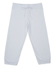 Me Do. Learn-to-Dress White Sweat Pant Front