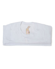 Me Do. Learn-to-Dress White Tee Shirt Interior Front