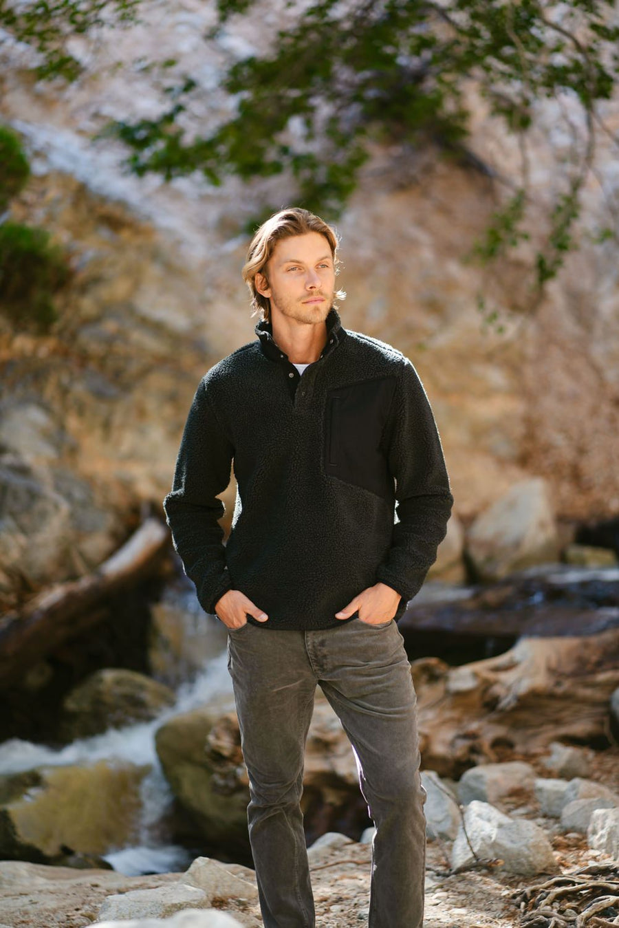Expedition Sherpa Fleece Pullover