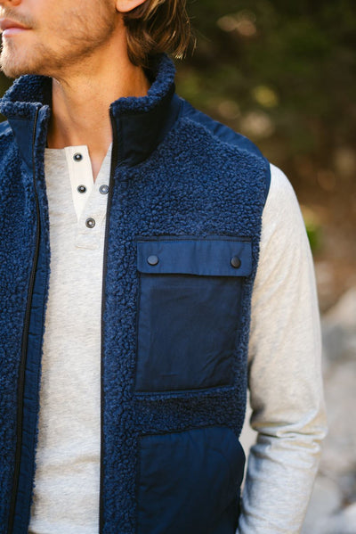 Expedition Sherpa Mock Vest