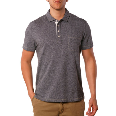 Black – Dixon Twist Yarn Jersey Polo