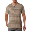 Canyon short sleeve jersey henley t-shirt