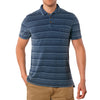 Hopkins Indigo Jersey Pique Polo