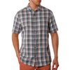 Clark Reversible Plaid with Print short sleeve
