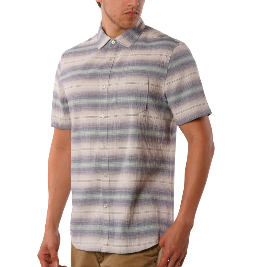Gibson Textured Chambray Stripe