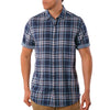 Carr Reversible Plaid Short Sleeve Shirt