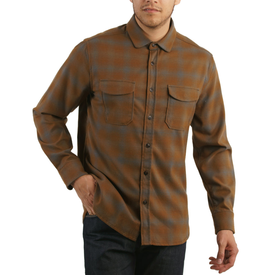 Peak Poly Wool Plaid