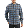 Delta Brushed Crepe Plaid
