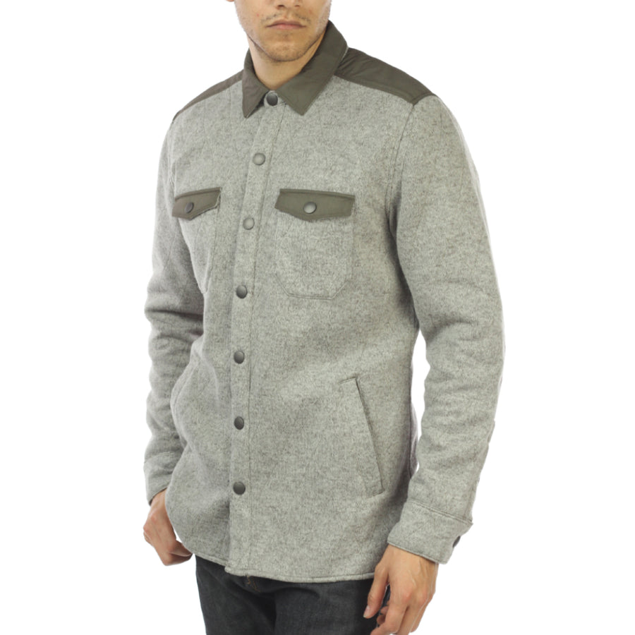 TATE Poly Fleece Shirt Jacket