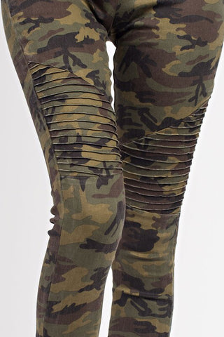 ankle zip camo motos :: BEST SELLER :: available in curvy sizes!